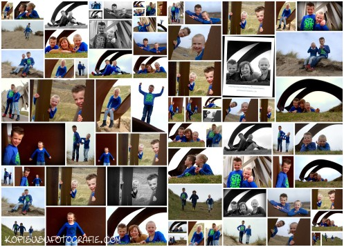 Fotocollage_Kids Fotoshoot Sam & Bo
